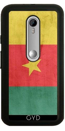 Funda de silicona para Moto G3 - Bandera De Camerún by wamdesign