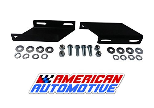 American Automotive 1994-2012 Ram 2500 3500 4WD 1994-2001 Ram 1500 4WD 2003-2008 Ram 1500 Megacab 4WD Sway Bar Drop Bracket Kit for 2-5