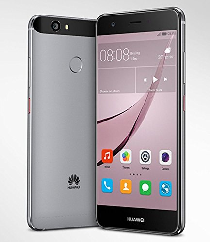 Huawei Nova CAN-L13 5.0″ Dual SIM LTE 32GB 3GB Ram 12MP Factory Unlocked (Gray)