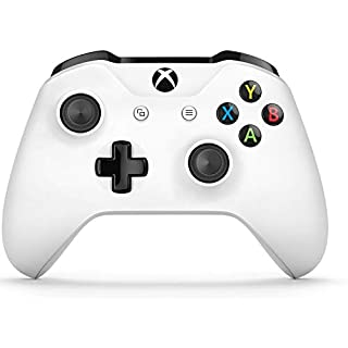 Microsoft Xbox One Wireless Video Gaming Controller, White (Renewed)