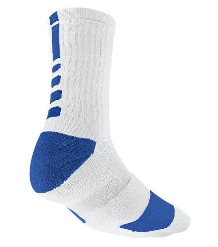 4a763e439 Amazon.com : Nike Elite Basketball Crew Mens Style: SX3692-143 Size: Medium  : Athletic Socks : Sports & Outdoors