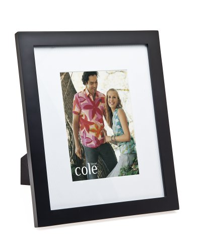 Amazon Com Matted Black Wood Frame For 8 Quot X 10 Quot Photos