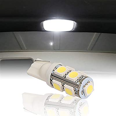Hooke Road Bright White Interior LED Dome Light Bulb Upper Reading Light for 1997-2020 Jeep Wrangler JK TJ(Package Includes 1 Light): Automotive