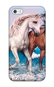 Nannette J. Arroyo's Shop 9144226K52326147 Premium Horses Art Heavy-duty Protection Case For Iphone 5/5s