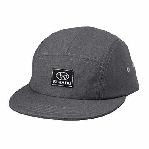 Genuine Subaru Five Panel Cap Grey Hat Impreza STI WRX Outback Forester Racing -
