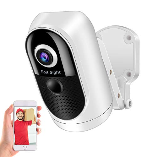 Wireless Rechargeable Battery Powered WiFi Camera, Home Security Camera, Night Vision, Indoor/Outdoor, 1080P Video, Motion Detection, 2-Way Audio, Weatherproof, with Cloud Storage/SD Slot