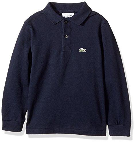 1519e36e2446 Lacoste Boy Long Sleeve Classic Solid Pique Polo