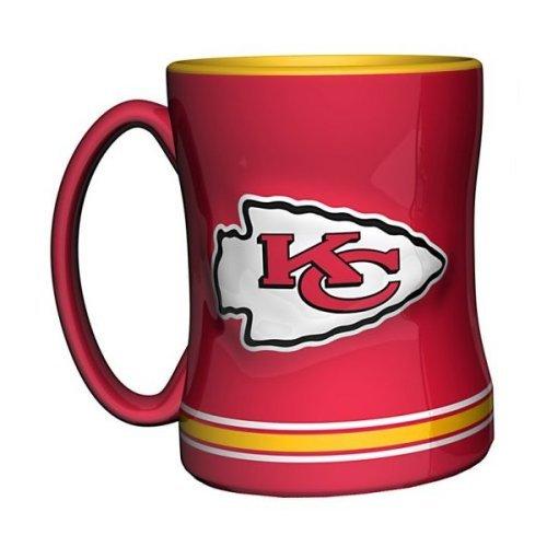 2015 NFL Football Coffee Mug - 14 ounce Ceramic Coffee Cup (Chiefs)