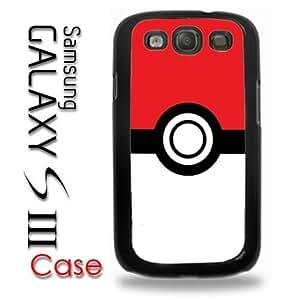 Samsung Galaxy S3 Plastic Case - Pokemon Pokeball Poke Pikachu Emblem Logo