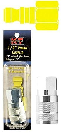 Tru-Flate 3//8 Male Npt 1//4 Coupler K-T Industries 6-5009