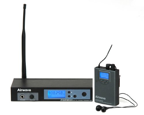 Airwave Technologies AT-EAR1001 UHF Wireless Professional In-Ear Monitoring System by Airwave Technologies