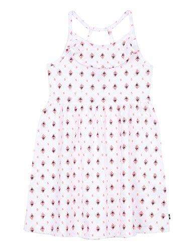(Nautica Girls' Little Spaghetti Strap Fashion Dress, Sail White Flounce, 6X)