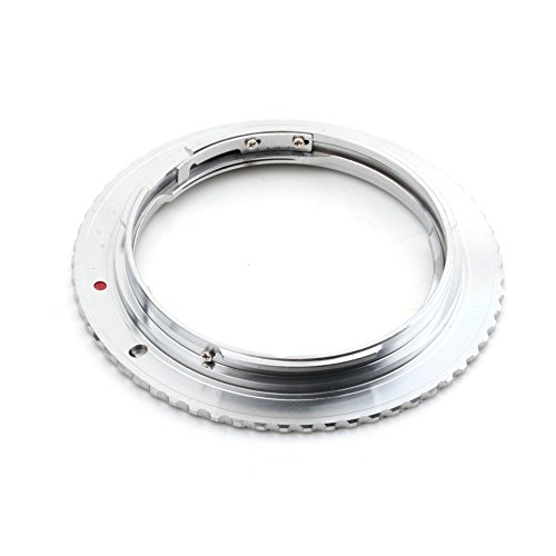 Pixco Mount Adapter Ring for Contax Lens (C/Y Mount) to Canon EOS Camera 760D 750D 5DS(R) 5D Mark III 5D Mark II 5D 7D 70D