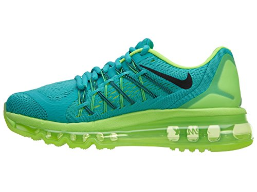 Nike Air Max 2015 Donna Lt Retro / Black-flash Lime-teal