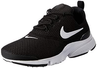 Nike Women's Presto Fly Sneakers, Black/White-White-Black, 7 US