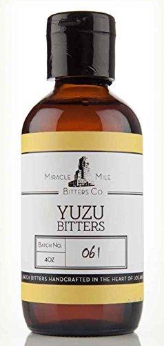 Miracle Mile Yuzu Bitters 4 oz (Japanese Citrus) ()
