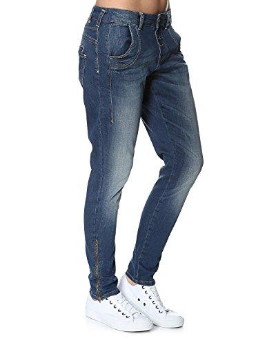 PULZ Jeans, Damen, W31/L34, denim