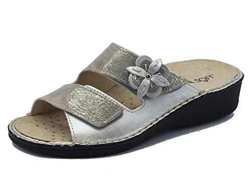 Cinzia Soft Im2812m Taupe - Sandalias de vestir de Piel para mujer topo