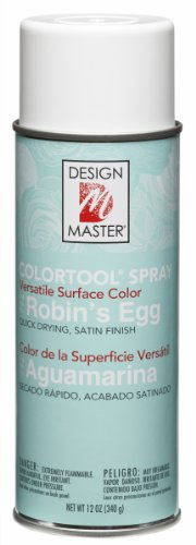 Design Master 792 Robin's Egg Colortool Spray ()