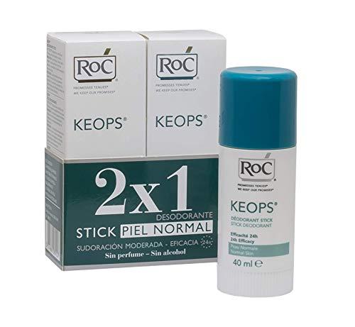 ROC KEOPS - Desodorante Roll On, Piel Normal, 30 ml (x2): Amazon.es: Belleza