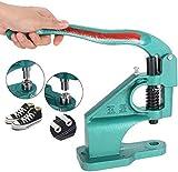 Jaketen Heavy Duty Hand Press Grommet Machine 3 Die (#0 #2 #4) with 900 Grommets Eyelet Tool Hole Punch Tool Kit