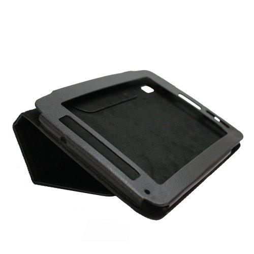 Fosmon Slim Fit Leather Folio Case for ViewSonic ViewPad 7e - Black
