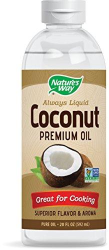 Nature's Way Premium Liquid Coconut Oil 20 Fluid Ounces (600 mL)