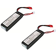 2 x Quantity of Walkera QR X350 11.1v 2200mAh 25c 3S Li-Po Battery Rechargeable Power Pack - FAST FROM Orlando, Florida USA!