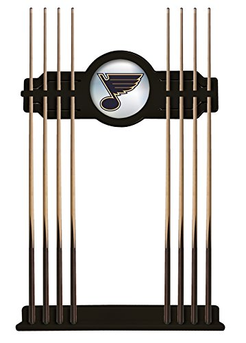 Holland Bar Stool Co. St Louis Blues Cue Rack in Black Finish