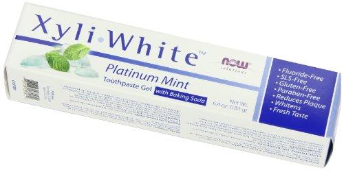 NOW Xyliwhite Baking Soda Toothpaste