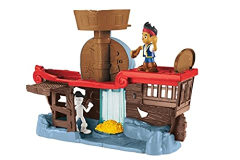 Fisher-Price Disney Jake and The Never Land Pirates Jake's Battle at Shipwreck Falls (Buccaneer Battling Jake)