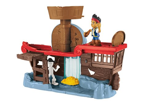 Fisher-Price Disney Jake and The Never Land Pirates Jake's Battle at Shipwreck Falls ()