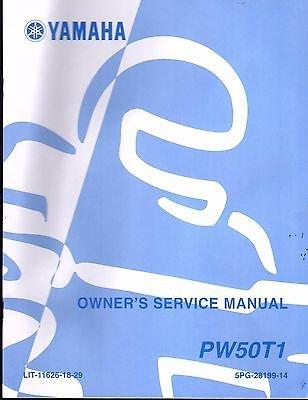 2005 YAMAHA MINI-BIKE PW50T1 OWNERS SERVICE MANUAL LIT-11626-18-29 (582)