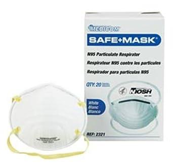 Niosh Amd-medicom - Shape Cone N95 Safe-mask Respirator Certified