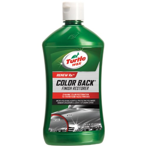Turtle Wax T-270R1 1-Step Color Back Oxidation Remover & Finish Restorer - 16 oz. Back Black Finish