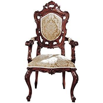 Genial Design Toscano Toulon French Rococo Armchair