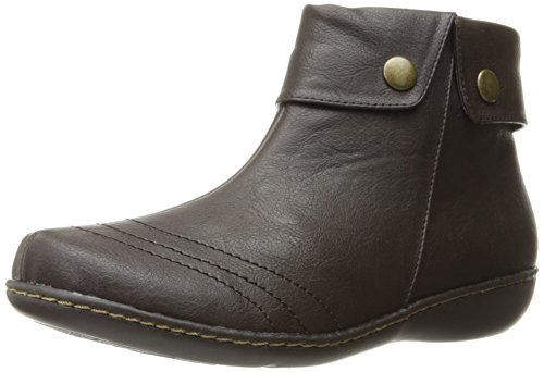 Boot Women's Leather Style by Brown Hush Jerlynn Puppies Soft Dark wSaYq6I