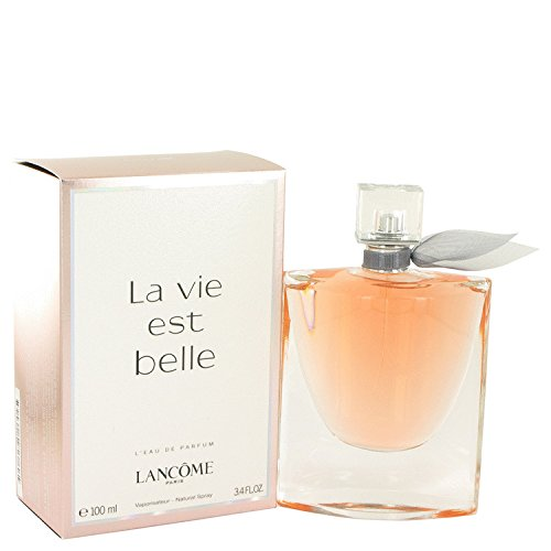 LANCOME La Vie Est Belle Eau de Parfum Spray For Women, 3.4 Ounce, Free Express (Pear Eau De Vie)