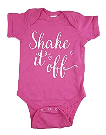Amazon.com: Strong Girl Clothing Baby's Shake It Off ...