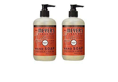 Mrs Meyers Hand Soap Radish 12.5 Ounce Pump