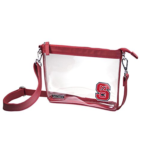 North Carolina Nfl - Capri Designs Clear Small Crossbody NFL Stadium Approved - North Carolina State University Wolfpack