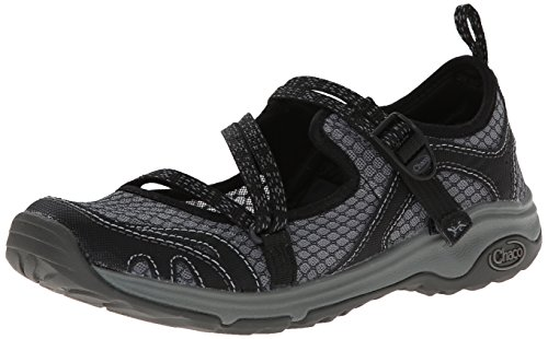 Chaco Women's Outcross Evo Hiking Shoe, Black, 6 M US by Chaco