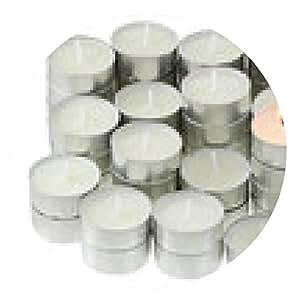 alfombrilla de ratón Un grupo de velas de té aislada en el fondo blanco - ronda - 20cm