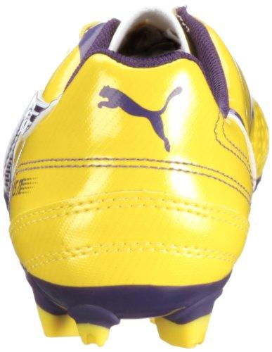 Puma v5.11 i FG Jr 102342 Unisex zapatos de los deportes fútbol infantil Amarillo (Gelb (Vibrant Yellow-Parachute Purple 05))