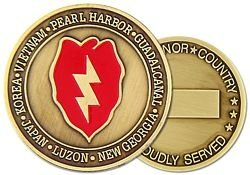 (U.S. Army 25th Infantry Division Challenge Coin )