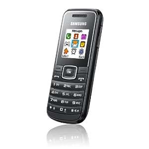 """Samsung Maple (E1050) - Móvil libre (pantalla 1.43"""", 64 MB de capacidad), negro"""