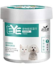 freneci Gentle Soft Ear Eye Wipes for Dogs and Cats Pet Animal Tear Stain Remover Wipe Pads
