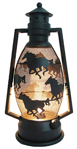 LL Home Metal Horse Lantern Light by LL Home