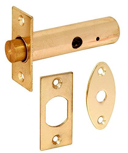 Bulk Hardware BH04747 63mm (2.1/2 inch) Brass Door Security Mortise Rack Bolt Bulk Hardware Limited