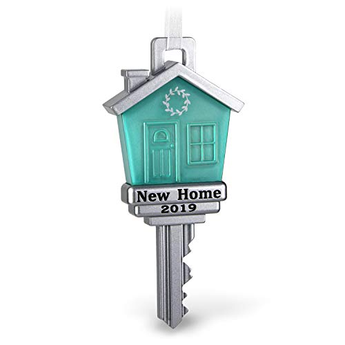 Hallmark Keepsake Christmas Ornament 2019 Year Dated New Home Metal (Hallmark Ornament First Christmas)